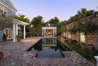 混搭风格客厅富裕型140平米以上别墅游泳池设计图纸