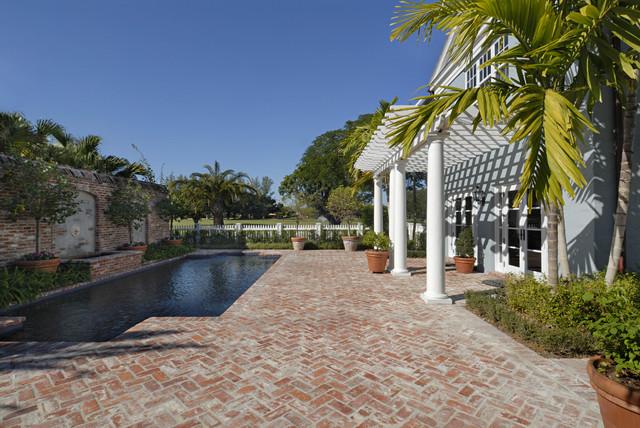 最新庭院鱼池设计效果图大全-齐家网装修图片频道