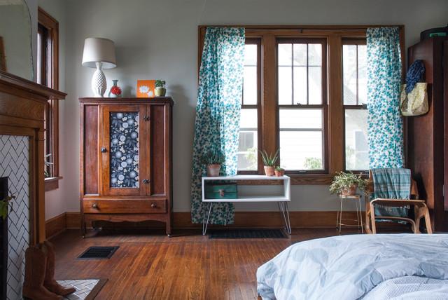 现代东南亚风格经济型140平米以上5平米卧室设计图