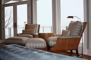 混搭风格客厅富裕型140平米以上单人沙发床图片