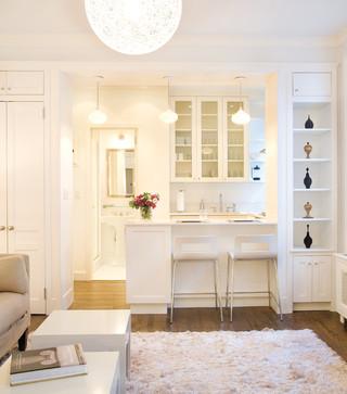 房间欧式风格经济型餐厅厨房隔断设计图纸