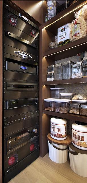 欧式风格家具富裕型140平米以上厨房收纳架图片