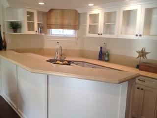 温馨卧室白色欧式家具2014厨房厨房吧台洗手台效果图