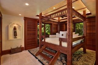 地中海风格客厅一层别墅原木色楼顶花园海外家居