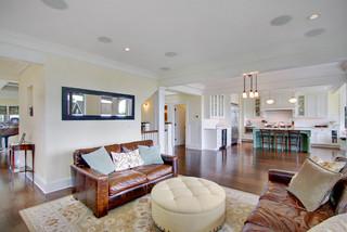 美式风格小型公寓2012简约客厅卧室背景墙装修图片