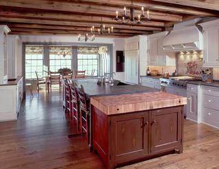 美式风格客厅2013别墅及咖啡色厨房玄关效果图