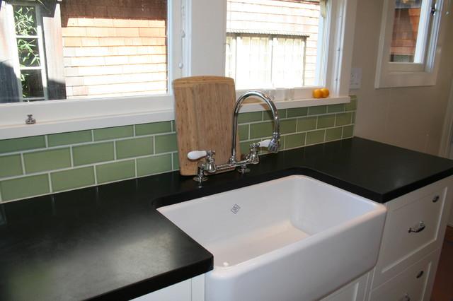 美式风格一层别墅2014整体厨房餐厅背景墙洗手台图片