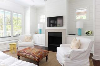 欧式风格卧室精装公寓温馨客厅厨房和餐厅效果图