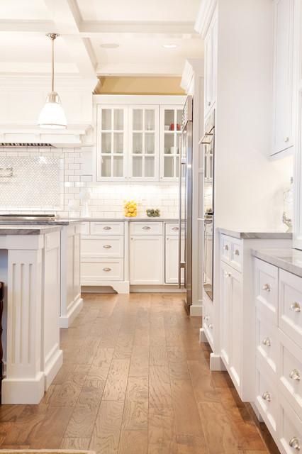 现代简约风格厨房三层双拼别墅白色橱柜别墅露台中式电视背景墙装修效果图
