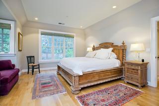 美式乡村风格卧室30平米白色门沙发背景墙茶几效果图