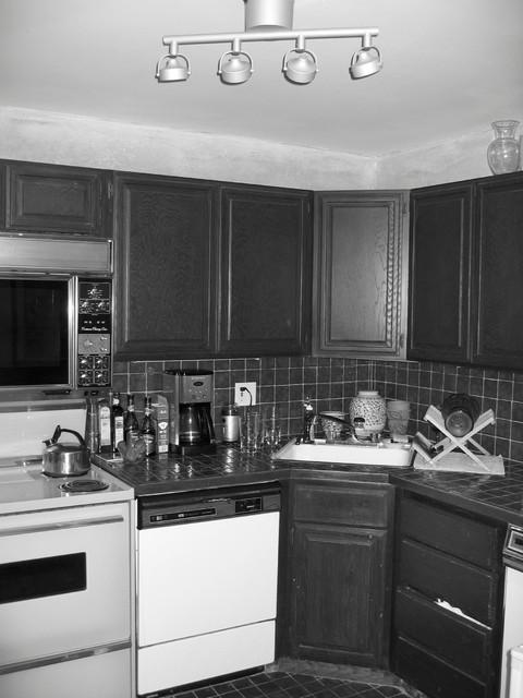 现代美式风格20卫生间黑白中式家装玄关装修