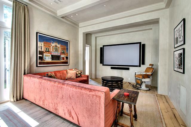 欧式风格家具富裕型140平米以上小客厅影视墙装修效果图