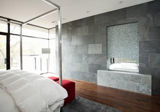 现代简约风格卫生间经济型13平米卧室效果图