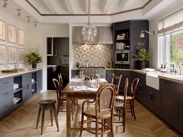 馨装饰厨房餐厅一体客厅过道吊顶设计