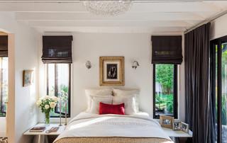 现代欧式风格10平米白色地毯别墅门厅客厅过道吊顶装修图片