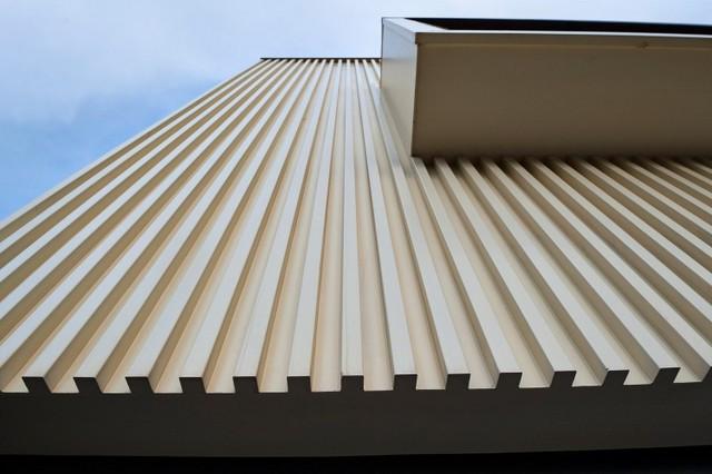 条纹楼梯建筑