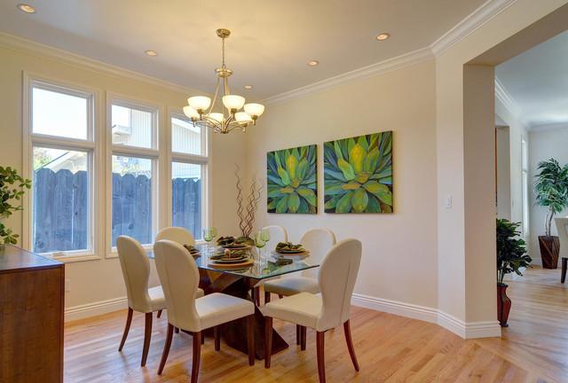 房间欧式风格温馨装饰100平米小户型开放式厨房家用餐桌图片高清图片