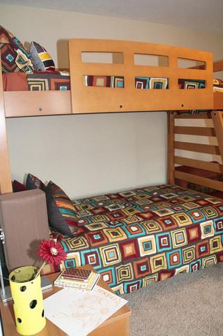 房间欧式风格橙色2014整体厨房红木餐桌效果图