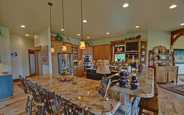 原木色家居5平方厨房客厅灯具图片