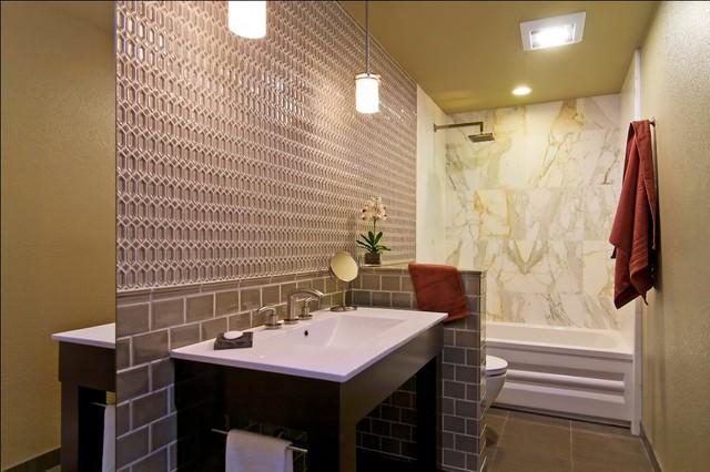 现代欧式风格富裕型2平米卫生间设计图