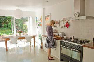 混搭风格客厅经济型140平米以上 6平方厨房装修图片