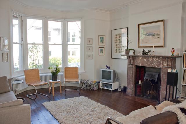 混搭风格客厅经济型140平米以上砖砌真火壁炉设计图图片