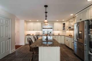 混搭风格客厅富裕型140平米以上3平米厨房装潢