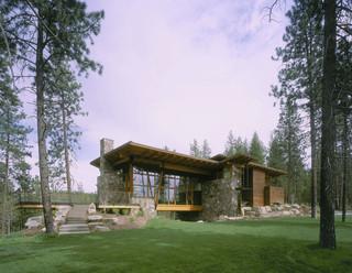 现代简约风格餐厅富裕型140平米以上一楼花园改造