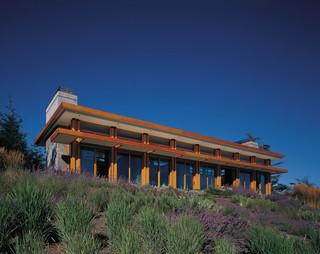 现代简约风格卫生间富裕型140平米以上家庭小花园效果图