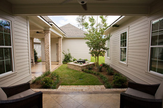 欧式风格卧室简单温馨富裕型140平米以上庭院围墙装修