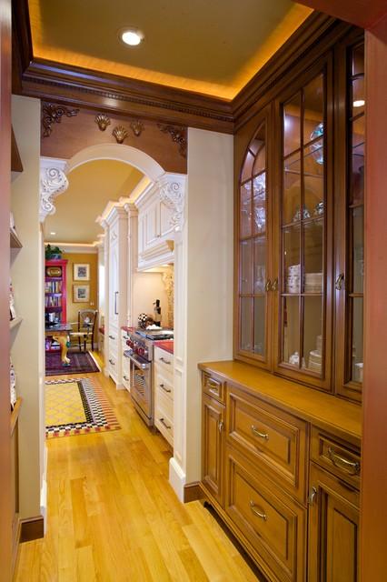 混搭风格富裕型140平米以上客厅过道吊顶效果图