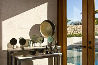 现代简约风格厨房富裕型140平米以上梳妆台图片