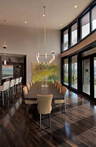 混搭风格富裕型140平米以上家庭餐桌图片