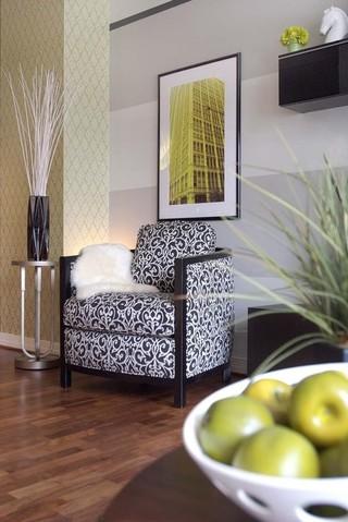 混搭风格富裕型单人沙发床效果图