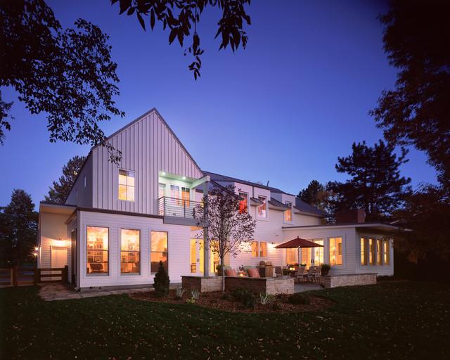 现代简约风格厨房富裕型一楼花园装潢