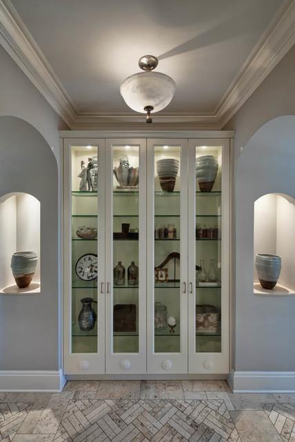 欧式风格家具富裕型140平米以上墙上书架图片