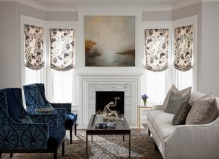 现代欧式风格富裕型140平米以上小客厅电视墙效果图