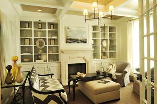 欧式风格卧室富裕型140平米以上小客厅电视墙装潢