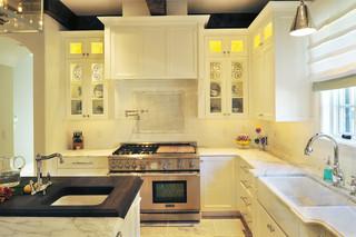 欧式风格卧室富裕型140平米以上整体厨房效果图