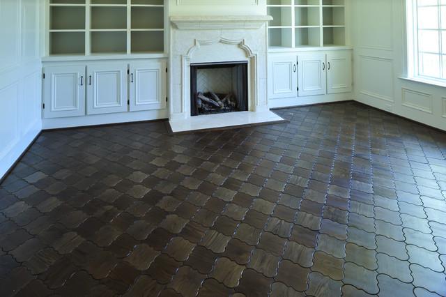 房间欧式风格富裕型140平米以上砖砌真火壁炉设计图图片