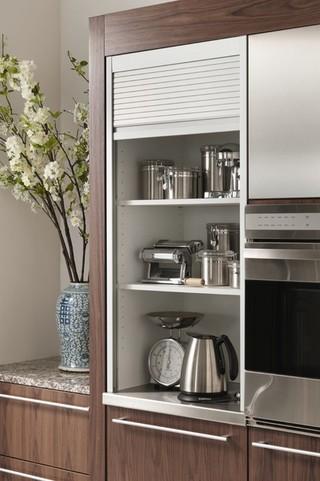 简约风格电视背景墙富裕型收纳柜效果图