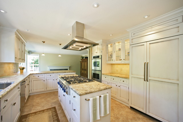 新古典风格客厅暖色调富裕型3平方厨房设计图纸