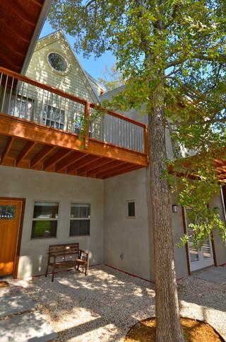 混搭风格客厅经济型140平米以上别墅露台装修效果图
