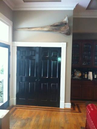 混搭风格经济型140平米以上门厅过道吊顶二手房设计图