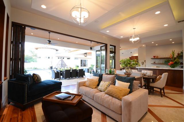 混搭风格客厅度假别墅富裕型140平米以上品牌沙发效果图