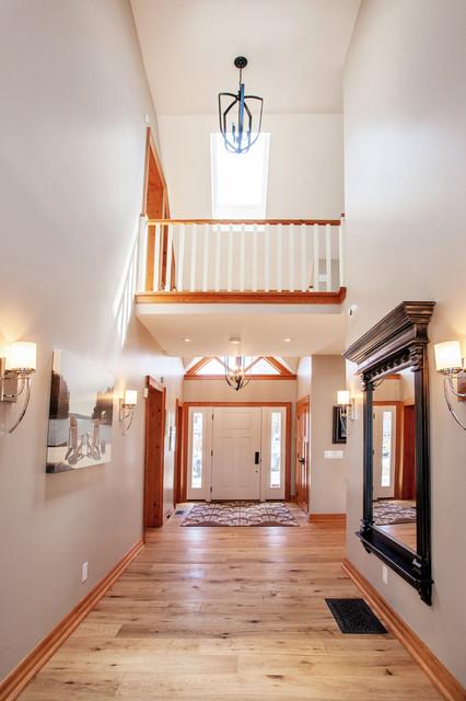 欧式风格家具富裕型140平米以上门厅吊顶装修图片