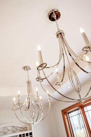 房间欧式风格富裕型140平米以上最新水晶灯图片