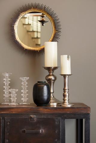 欧式风格富裕型明珠梳妆台图片