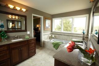 房间欧式风格富裕型140平米以上嵌入式浴缸效果图