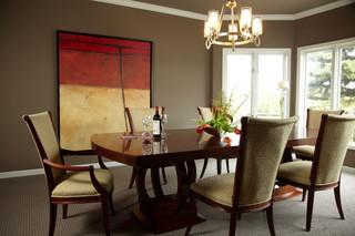现代欧式风格富裕型140平米以上快餐桌效果图
